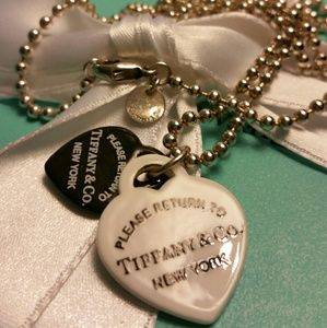 Tiffany & Co. Retired Bone China RTT DB Hearts